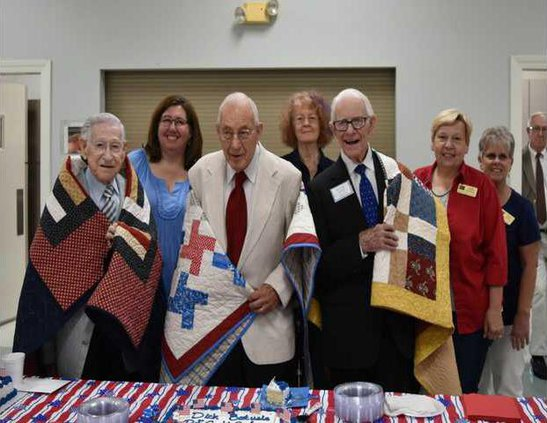 Quilts of Valor vets