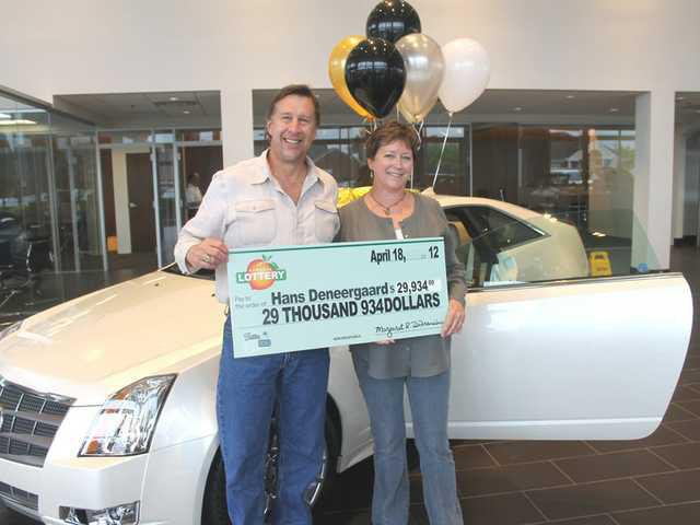 Gainesville Man Wins Cadillac In Lottery Gainesville Times