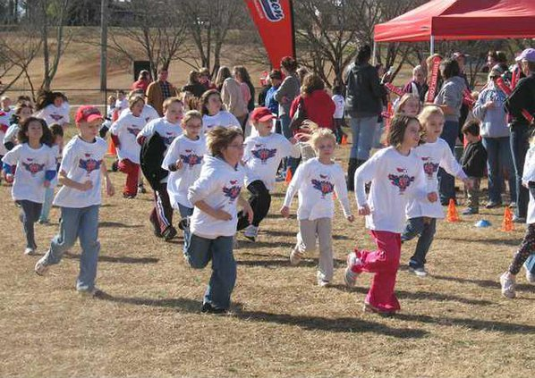 Students Run To Raise Money For Playground Gainesville Times