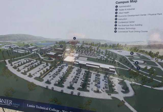 Georgia Gwinnett College Campus Map.Deal Touts Lanier Tech Expansion In Signing State Budget