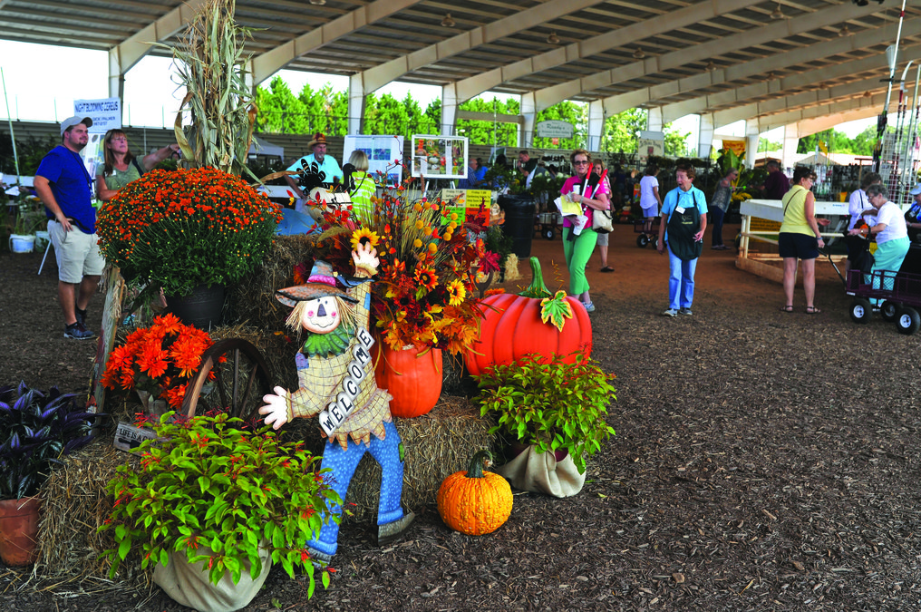 Plant Lovers Visit The Chicopee Woods Agricultural Center Friday Afternoon  For Day On Of The The Annual Hall County Master Gardeners Fall Plant Expo.