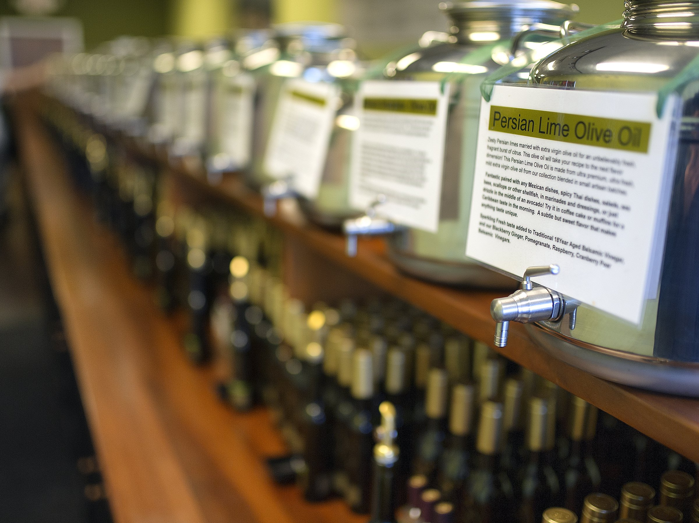 New Gainesville shop specializes in fresh, flavored olive oil ...