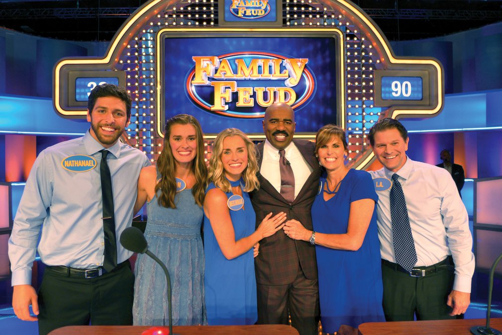 buford family to compete on family feud this week gainesville times