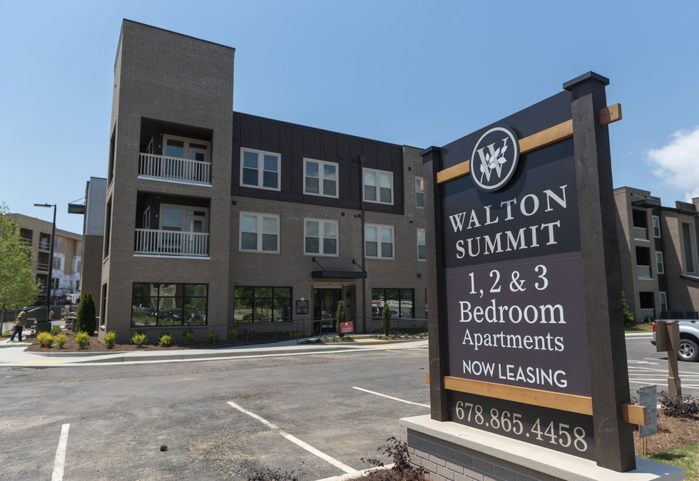 Editorial apartment complex offers a blueprint to build on one of the completed housing units at walton summit apartment complex on thursday may 10 2018 in gainesville the new mixed income development on ee malvernweather Images