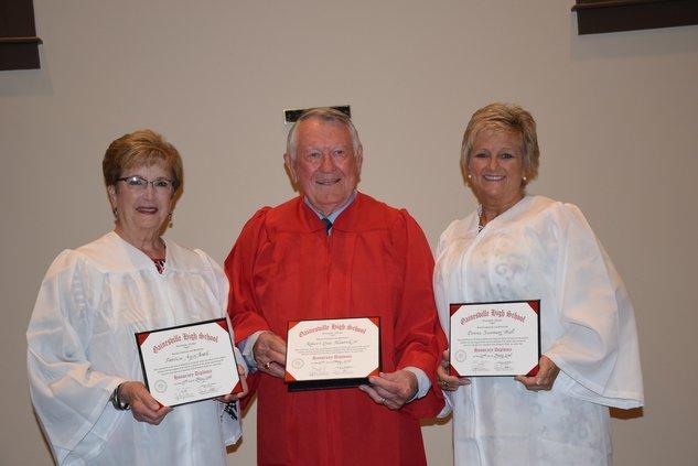 Honorary diplomas