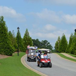 See how Cresswind at Lake Lanier celetes July 4 with golf cart ... Teal Golf Cart With Flames on teal pull cart, room essentials metal cart, teal golf cover,