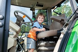 Touch a Truck: Tractor tot