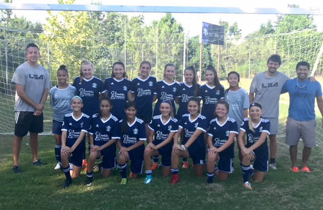 Lanier Soccer Association's 05 Gold Girls team qualifies for U.S. Youth Soccer National League - Gainesville Times