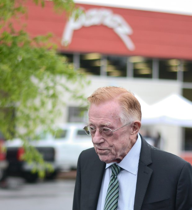 Entrepreneur don panoz, who once owned chateau elan and road.