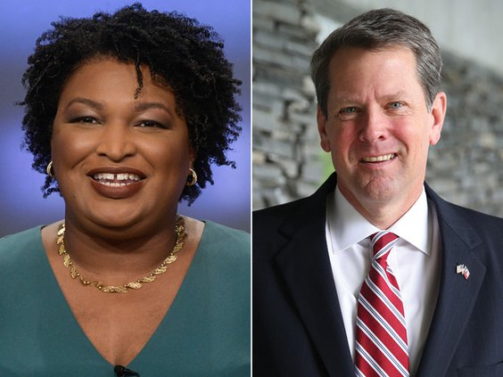 ELECTION 2018 KEMP ABRAMS