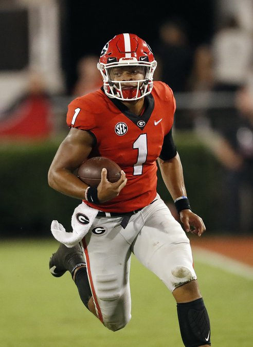 240633ff728 Bill Murphy  It s time for Georgia to turn to Justin Fields ...