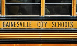 Gainesville school bus