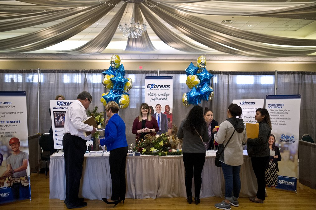 19666bd24a6 Annual job fair attracts 70-plus employers looking for new hires ...